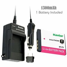 Kastar Battery and Normal Charger Kit for Sony NP-FT1 Cyber-shot DSC-T11 T10 T9