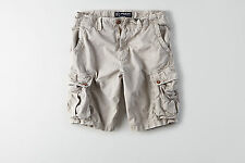 American Eagle Mens Destroyed Cargo Shorts - Gray - Sizes 36-44 - NWT