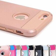 For Apple iPhone 7 6 6S Plus SE Cover Case Shockproof Hybrid Rugged Rubber Hard