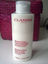 Clarins Moisture Rich Body Lotion with Shea Butter 400ml