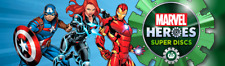 NEW Woolworths Marvel Heroes Super Discs