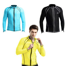 New Fashion Men Summer Scuba Snorkeling Wetsuit Rash Guard Surfing Surf Swimwear