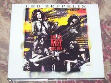 """Led Zeppelin   """" How The West Was Won """" ( Live )   3 Used CD's"""