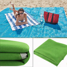 Sand Free Beach Blanket Outdoor Picnic Camping Blanket Sandless Beach Mat Large