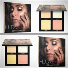 UK  HUDA BEAUTY 3D HIGHLIGHTER PALETTE &18 Color Eye Shadow Make Up Makeup