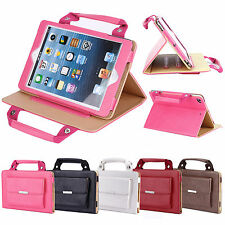Leather Magnetic Handbag Smart Stand Case Cover For iPad Air Pro Mini 1 2 3