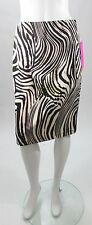 Betsey Johnson Tan Animal Print Color Splash A-Line Skirt Sz S, M, L, XL NWT