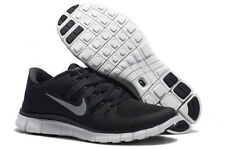 Mens NIKE FREE 5.0+ Black Athletic Shoes 579959 002 Classic Running trainers