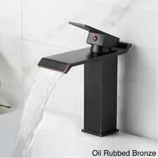 Contemporary Faucets Bathroom Sink Mixer Taps Waterfall Faucet Mixer Basin Taps