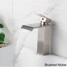 Bathroom Faucet Modern Lavatory Sink Faucets Brass Water Taps Mixer Bath Taps