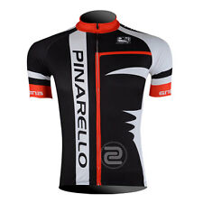 Team Mens Cycling Tops Jersey Racing Shirt Bike Tops Wear Size S M L XL 2XL 3XL