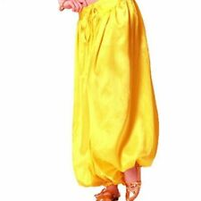 Belly Dance Costume Gypsy Satin Harem Pantalons Pant Trousers Bollywood Carnival