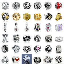 European Sterling 925 Silver Charms Beads for Lot Jewelry Bracelet Necklace US24