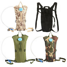 2.5L Hydration Water Bag Pack Backpack Rucksack Hiking Cycling Camping Bladder