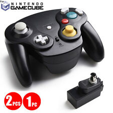 2.4G Black Wireless Gamecube Controller Adapter for Nintendo Wii GC NGC