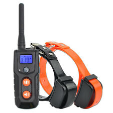 Remote 330 Yards Rechargeable and Waterproof Vibrating Dog training Collar