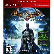 Batman Arkham Asylum Game of the Year Edition PS3 Complete CIB