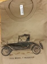 Men's White Safari 1926 Ford Model T Roadster Graphic Tee T Shirt L XL Large 2XL