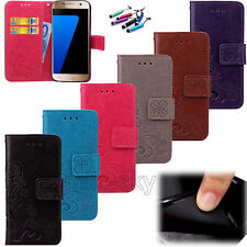 Hot Fashion Flip Stand Hybrid Wallet Leather Case Cover For Samsung Galaxy Phone