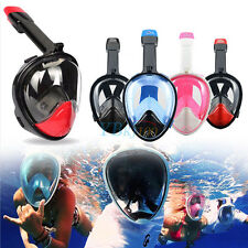 Keep Diving Anti-Fog Swimming Diving Full Face Snorkel Scuba Mask for GoPro M/XL