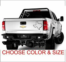 Texas TX STATE  Sticker Decal Austin Houston Dallas Lone Star CAR SUV PickUp Bed