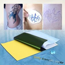 10Sheets Tattoo Transfer Carbon Paper Supply Tracing Copy Body Stencil A4 BU