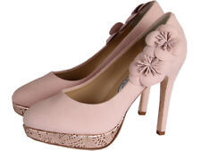 Rainbow Club Hassall Cupcake Rose Leather Womens Court Shoe UK Size 3-8 RRP225