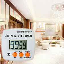 Digital Timers for Kitchen Mechanical Timer with Alarm Cooking  Kitchen