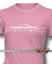 1967 Plymouth Barracuda Coupe Women T-Shirt - Multiple Colors & Sizes