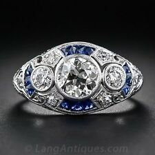 4.1CT White Topaz Sapphire 925 Silver Women Jewelry Ring Wedding Ring Size 6-10