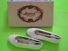 NWT StoryBook Heirlooms white SPARKLE dress shoes GIRLS US size 11 12 13 2 3