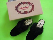 NWT StoryBook Heirlooms VELOUR  slip dress shoes GIRLS US size 13 1 2 3 4 youth