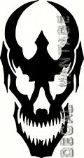 Devil Skull Vinyl Sticker Decal Evil Demon - Choose Size & Color
