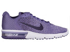 NEW WOMENS NIKE AIR MAX SEQUENT 2 RUNNING SHOES TRAINERS PURPLE EARTH / DARK RAI