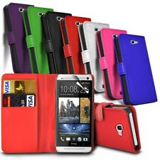 HTC U Play / HTC Alpine - Leather Wallet Card Slot Case Cover