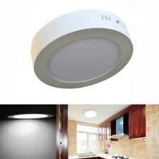No Cut 6w 12w 18w 24w Surface Mounted Led Ceiling Downlight Round Panel Light