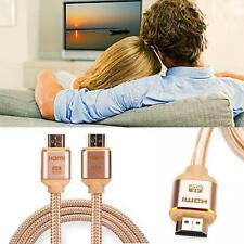1-5M Premium Ultra HD High Speed HDMI Cable V2.0 HDTV PS4 4K 2160P GOLD