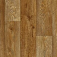 SUPER *4mm THICK* Brown Wood Vinyl flooring *4m WIDE* £7.99sqm **FREE DELIVERY**