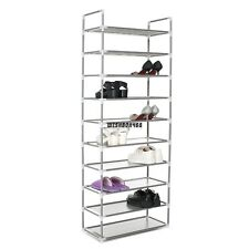 Home DIY Portable Closet Storage Organizer Simple Shoes Rack Stand IXH4