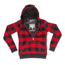 Last of Us ELLIE'S RED FLANNEL HOODIE Naughty Dog Sweater Hoody  S M L XL XXL