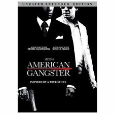 American Gangster (DVD, Unrated Extended Edition 2009) Brand New/Factory Sealed