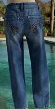 Cache $98 DENIM EMBELLISHED POCKETS Jean Pant New STRETCH 0/2/4/6/8 XS/S/M   NWT