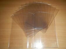 Transparent Passport Holder ID Document Cover Protective Page Insertions Clear