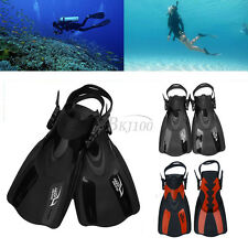 TPR Pro Dive Fins Flippers Full Foot Shoes Scuba Diving Swimming Snorkeling