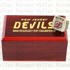 2003 New Jersey Devils Stanley Cup Championship Copper Ring Size 10-13 Solid