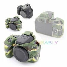 Silicone Soft Armor Skin Case Bag Camera Cover Protector For Nikon D5500 D5600