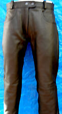 BRAND NEW LEATHER PANT FOR MEN 100% COWHIDE LEATHER BLACK
