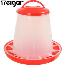 Automatic Chicken Feeder 1.5kg Capacity Drinker Set Poultry Farm Raising Tools