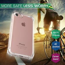 Slim Transparent Crystal Clear Hard TPU Shockproof Case Cover For Apple iPhone 7
