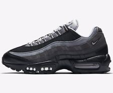Nike AIR MAX-95 ESSENTIAL MEN'S SHOES, BLACK/ANTHRACITE/GREY- US 9.5, 10 Or 10.5